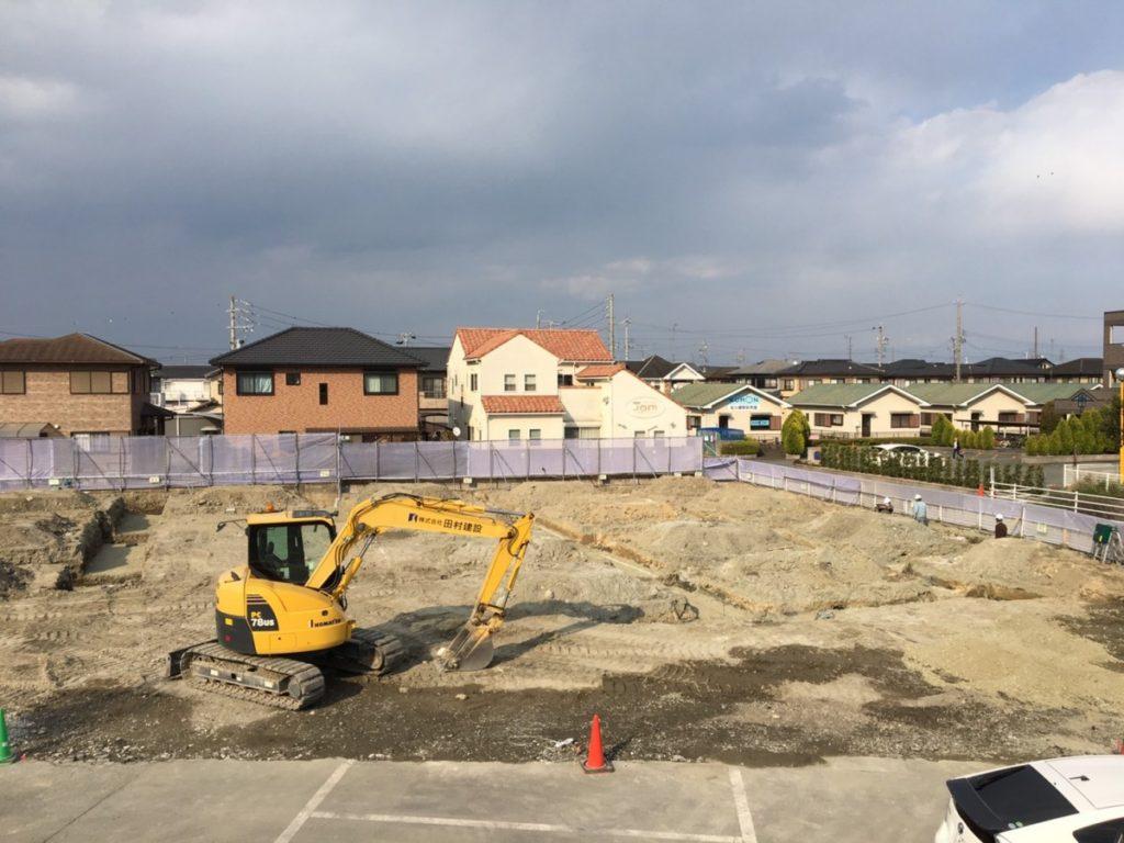 基礎工事が始まりました!!写真